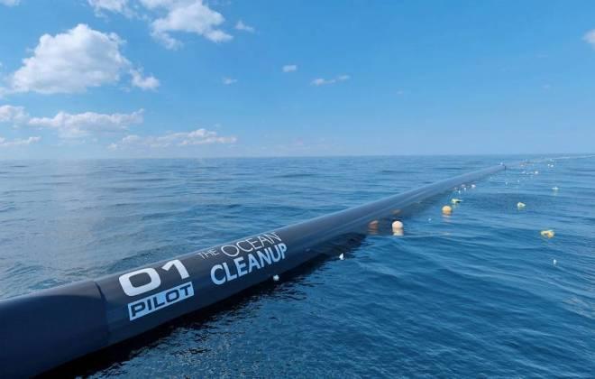 Fundação Usará Redes Gigantes Para Limpar O Oceano Pacífico Só